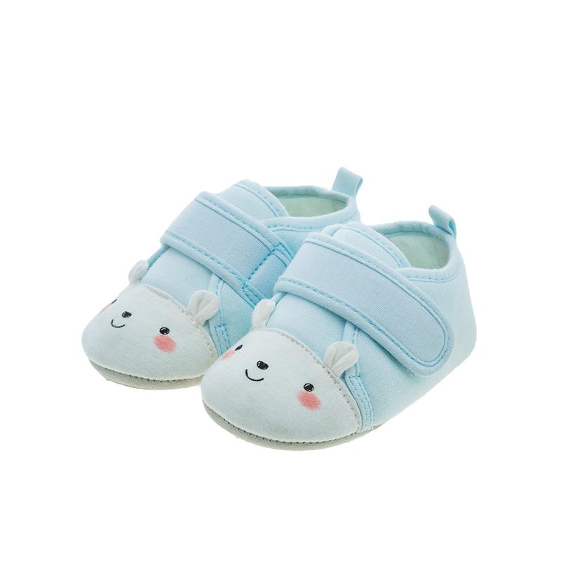 歌瑞贝儿(新)中性可爱动物宝宝鞋GB183-001SH蓝13CM双