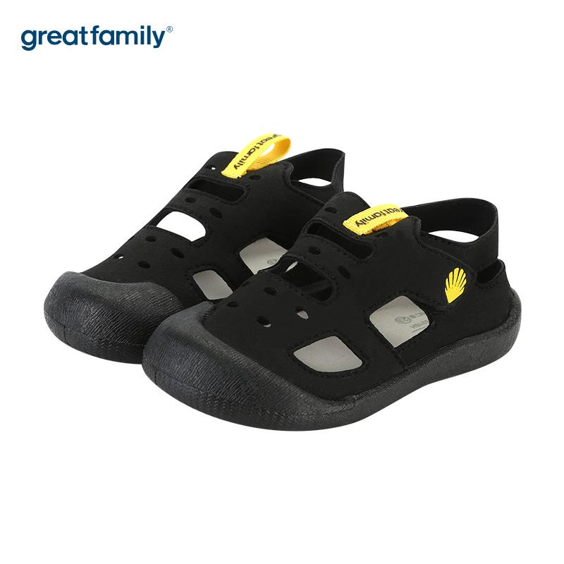 歌瑞家(greatfamily)男婴运动鞋GKS2-021SH黑13.5CM双
