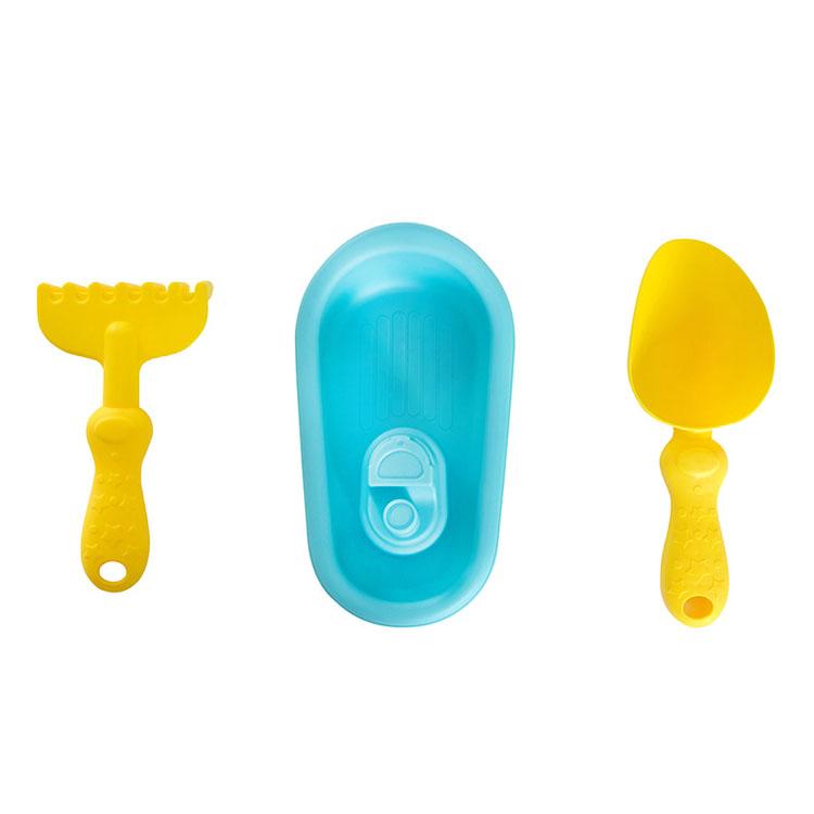 字母沙滩玩具(软胶沙滩船)3PCS