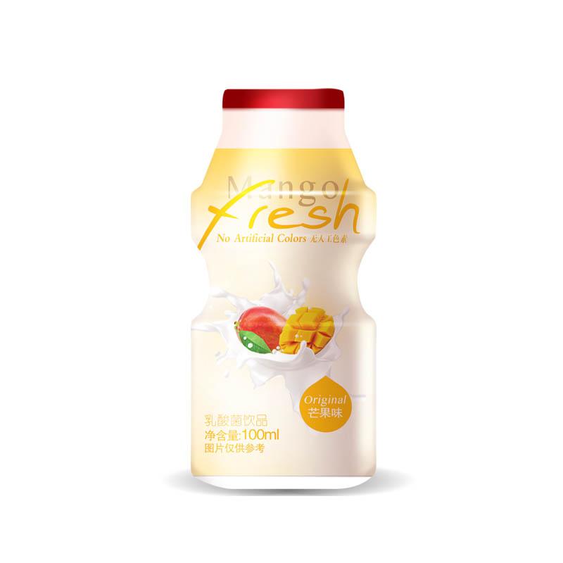 尚可诗乳酸菌饮品芒果味100ml*4瓶包
