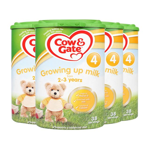 【直邮】英国牛栏婴幼儿奶粉4段(2-3Y)800g*4罐