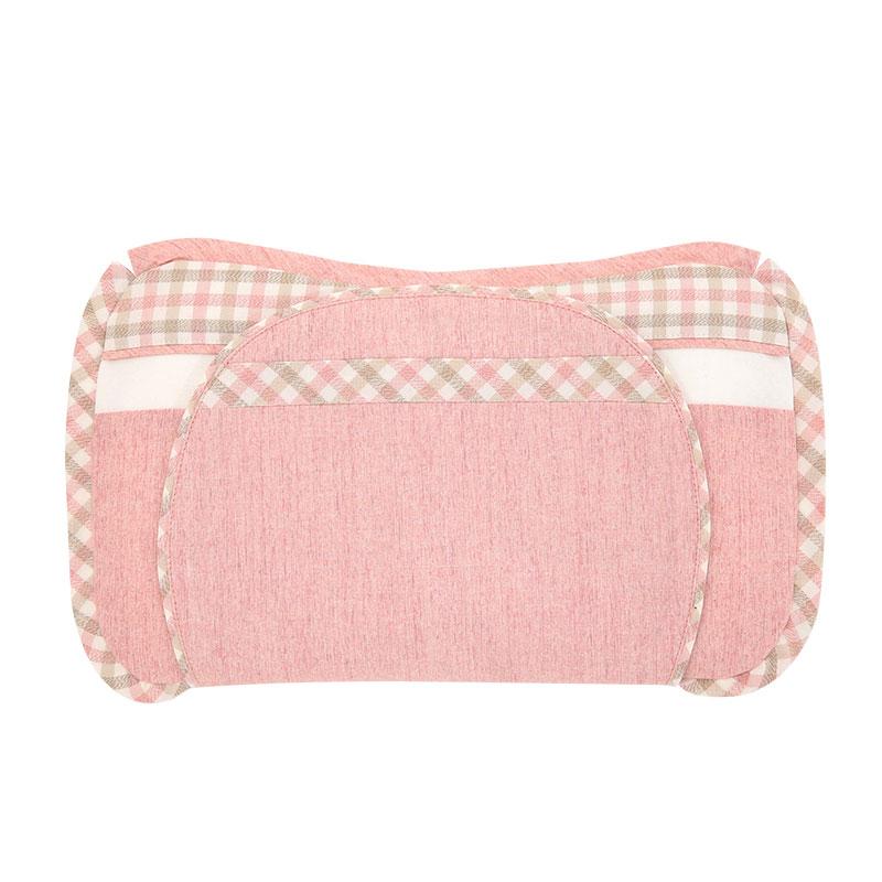 良良格彩新生儿保健枕35*19(cm)粉LL16A01-2P
