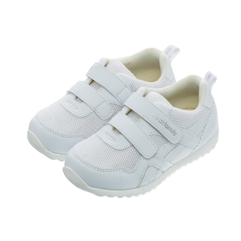 歌瑞家(greatfamily)中性休闲运动鞋GKS1-008SH白14CM双
