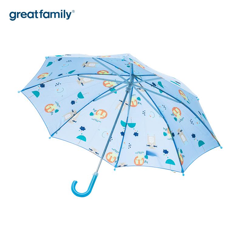 歌瑞家A类男童蓝色雨伞
