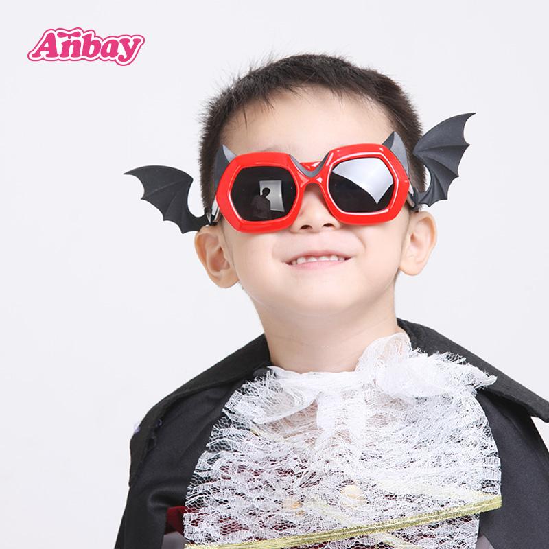 安比男童红色儿童太阳镜