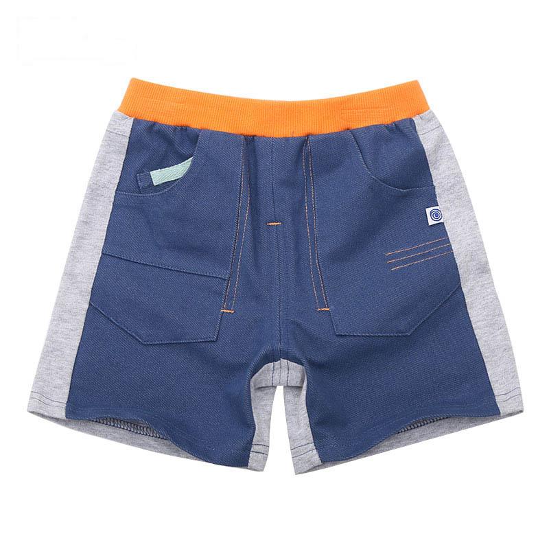 歌瑞家A类男童混色针织牛仔短裤