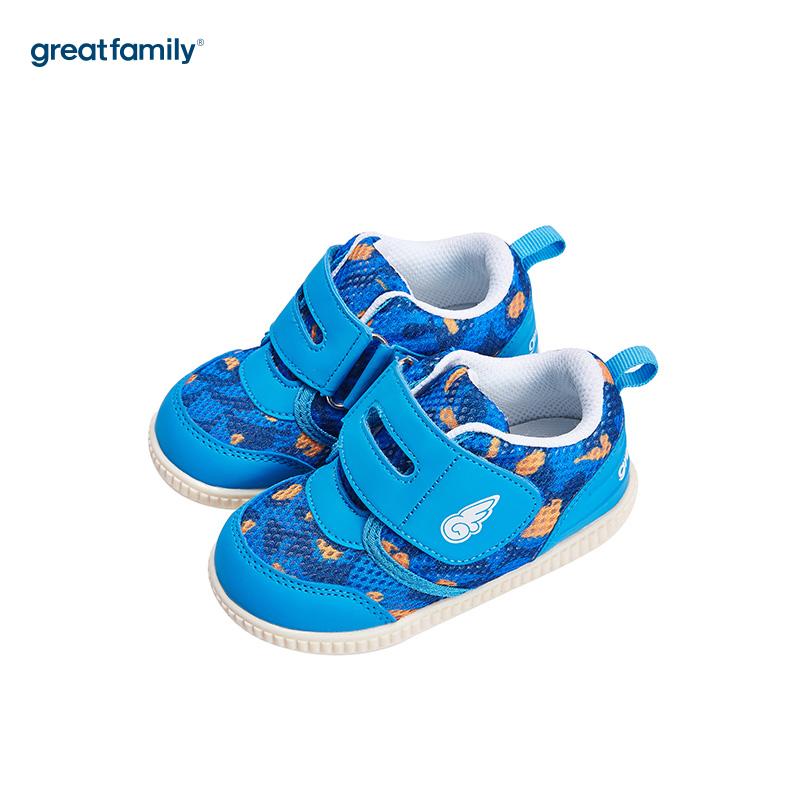 歌瑞家(greatfamily)男婴叫叫鞋GB182-014SH蓝13CM双