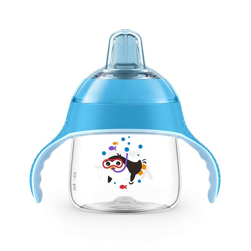 飞利浦新安怡七安士卡通企鹅杯(蓝色)