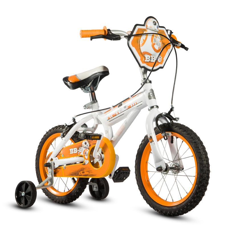 贝乐童车迪士尼系列星球大战BB-8自行车16寸 黄色