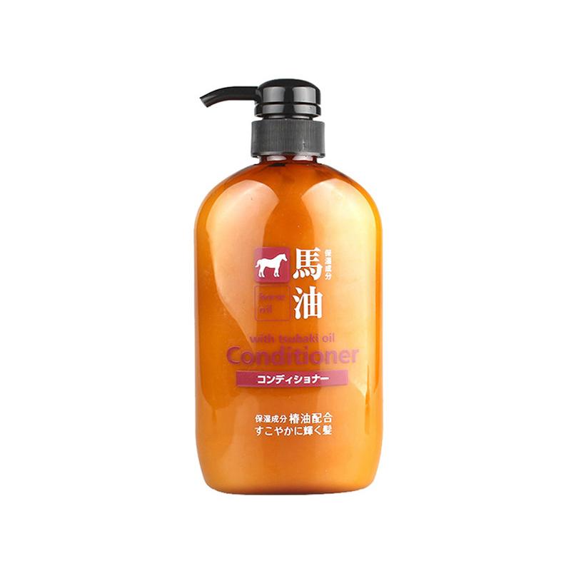 【包税】熊野油脂马油护发素600ml/瓶