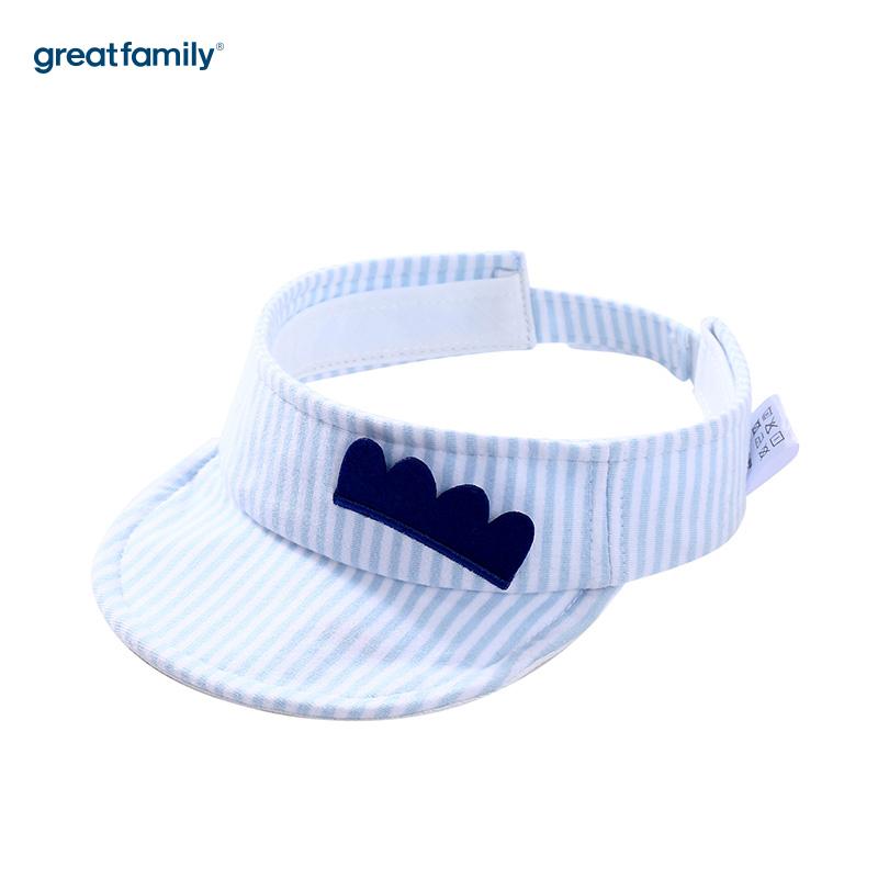 歌瑞家A类男童蓝色空顶帽