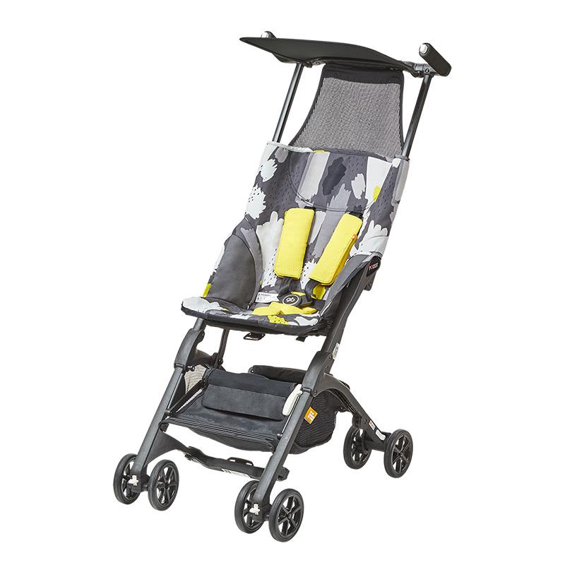 好孩子POCKIT 2-A-Q309GY型便携式婴儿口袋车 灰
