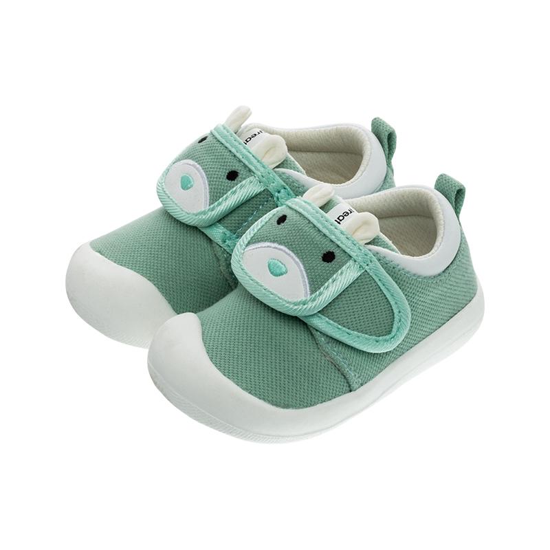 歌瑞家(greatfamily)女婴小动物宝宝鞋GBS1-007SH绿13CM双
