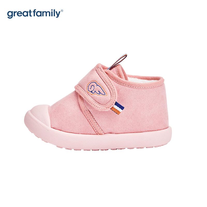 歌瑞家(greatfamily)女童休闲鞋GKS-006SH粉