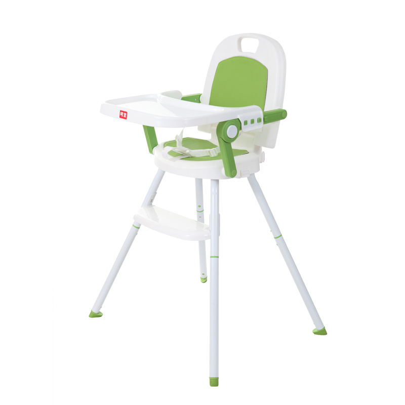 呵宝三合一便携儿童餐椅 草木绿