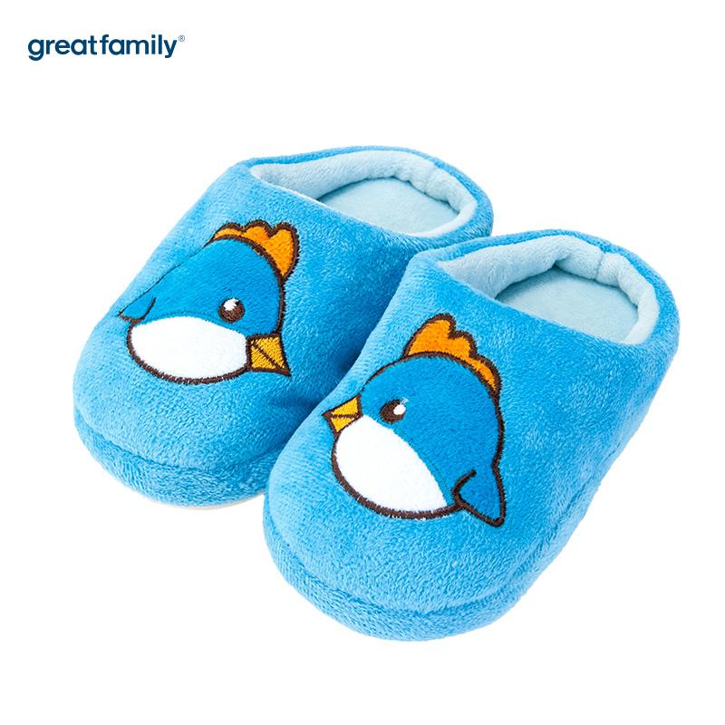 歌瑞家(greatfamily)男婴小鸡拖鞋蓝色