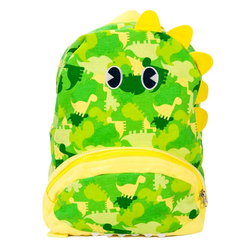 歌瑞家greatfamily男童小恐龙双肩书包绿色