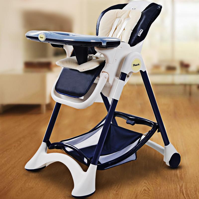 Pouch多功能儿童餐椅K05藏青色