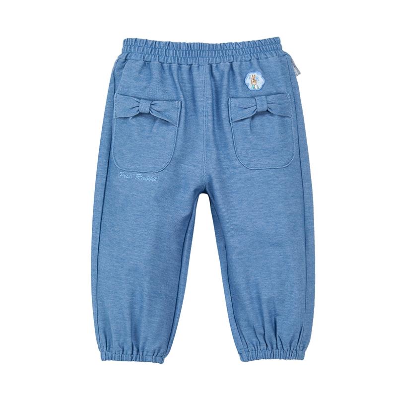 歌瑞家(比得兔)A类男宝宝蓝色九分裤