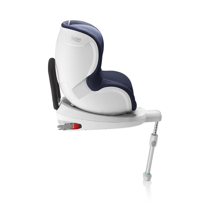 宝得适Britax双面骑士月光蓝儿童汽车安全座椅0-18kg 约0-4岁