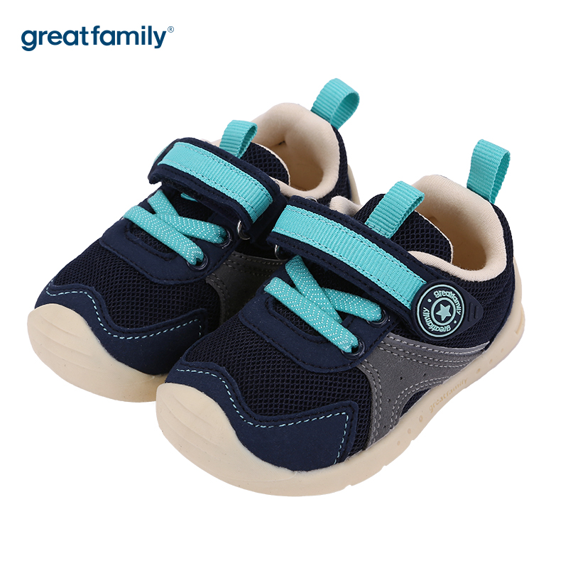 歌瑞家(greatfamily)男婴机能鞋GBS3-025SH蓝