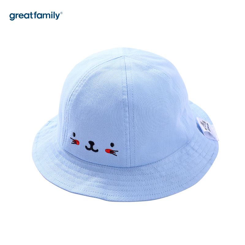 歌瑞家A类男童蓝色盆帽