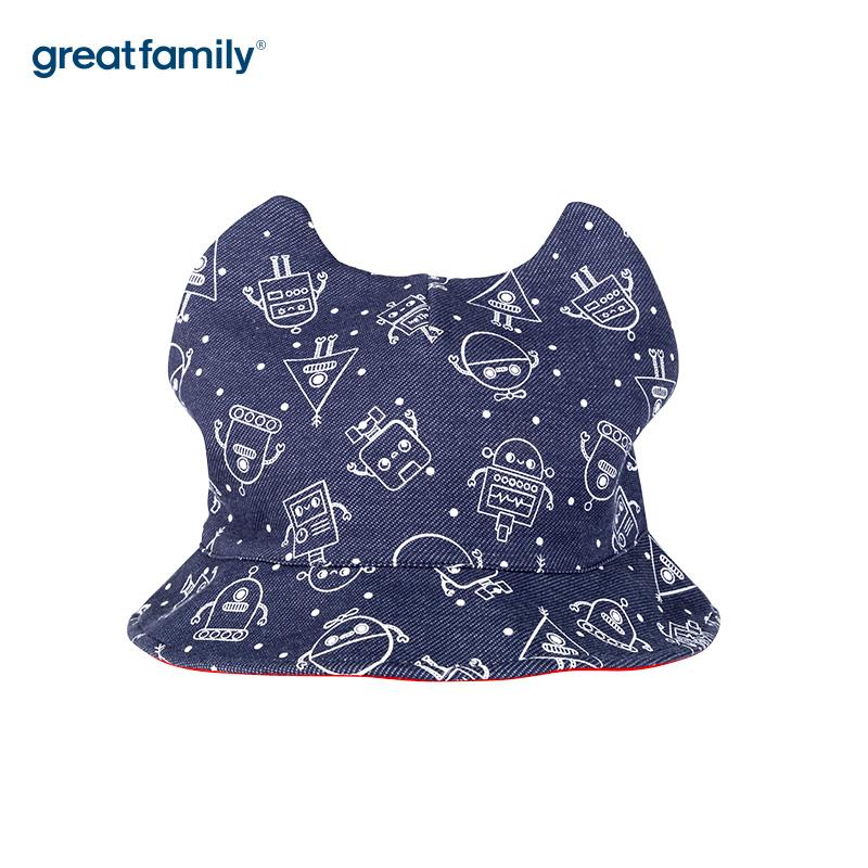 歌瑞家A类男童盆帽混色色男童帽