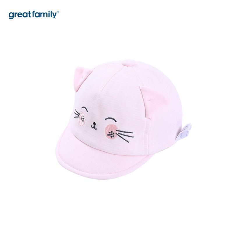 歌瑞家A类女童粉色软檐帽