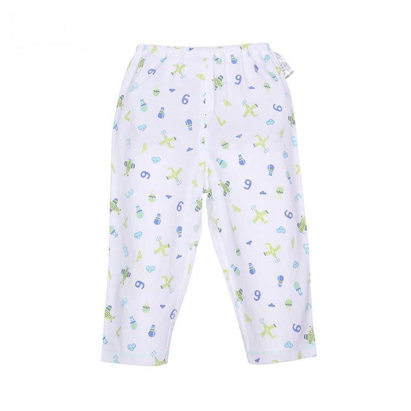 歌瑞贝儿A类男宝宝绿色单面布开闭裆裤