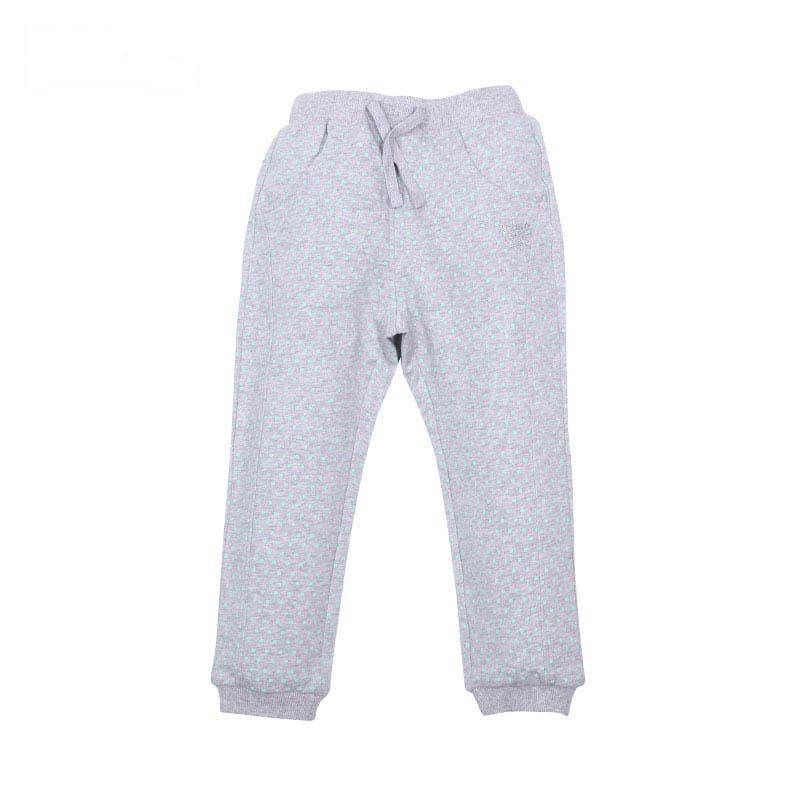 歌瑞家A类女童灰色针织长裤