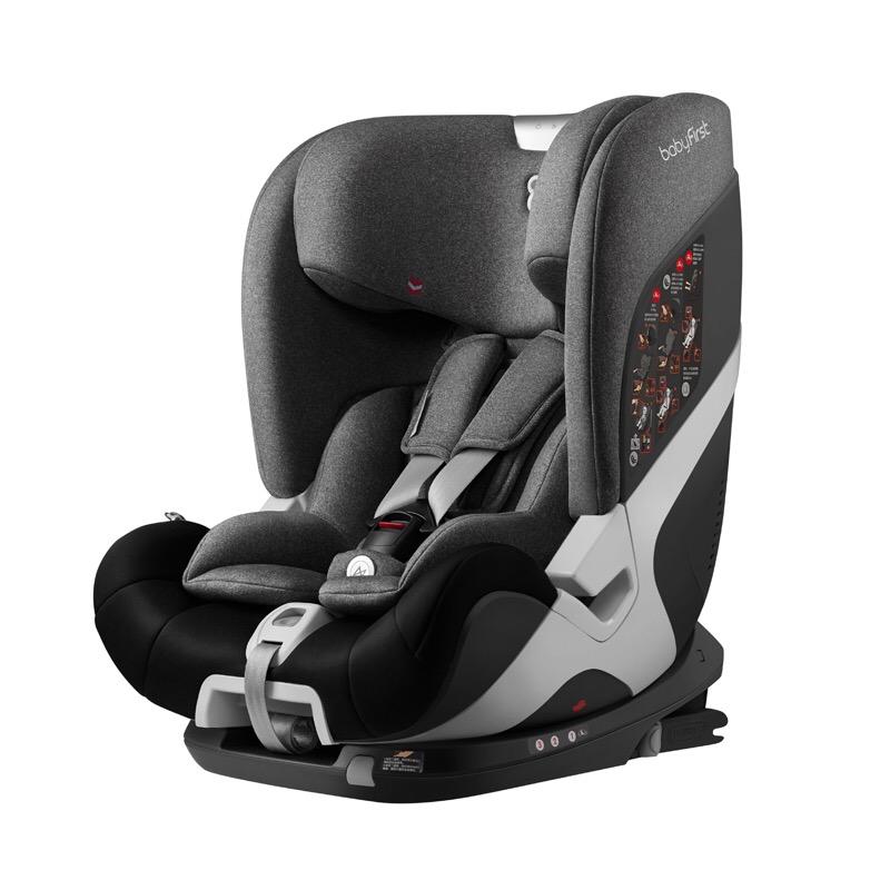 宝贝第一REX耀至智能款儿童安全座椅(北极灰)