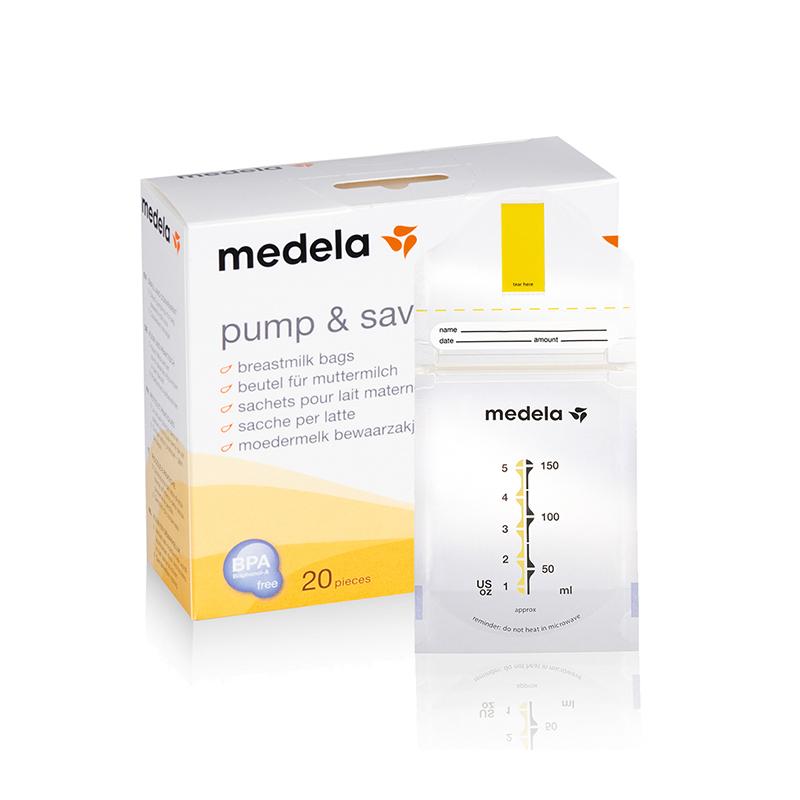 美德乐Medela瑞士进口储奶袋20个装母乳储存袋便捷卫生