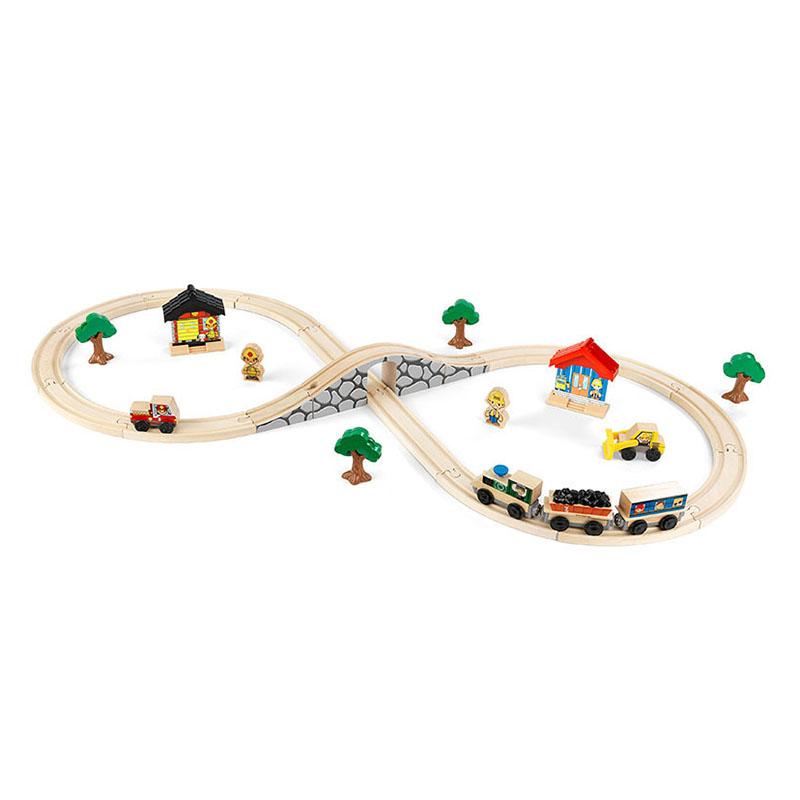 KidKraft玩具火车41件套