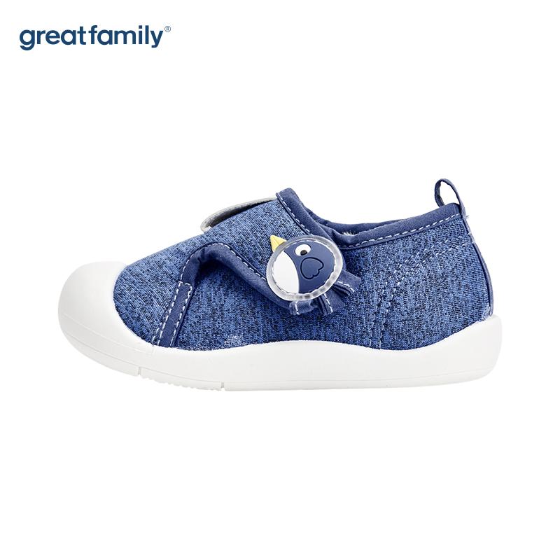歌瑞家(greatfamily)男婴休闲宝宝鞋GBS4-019SH蓝