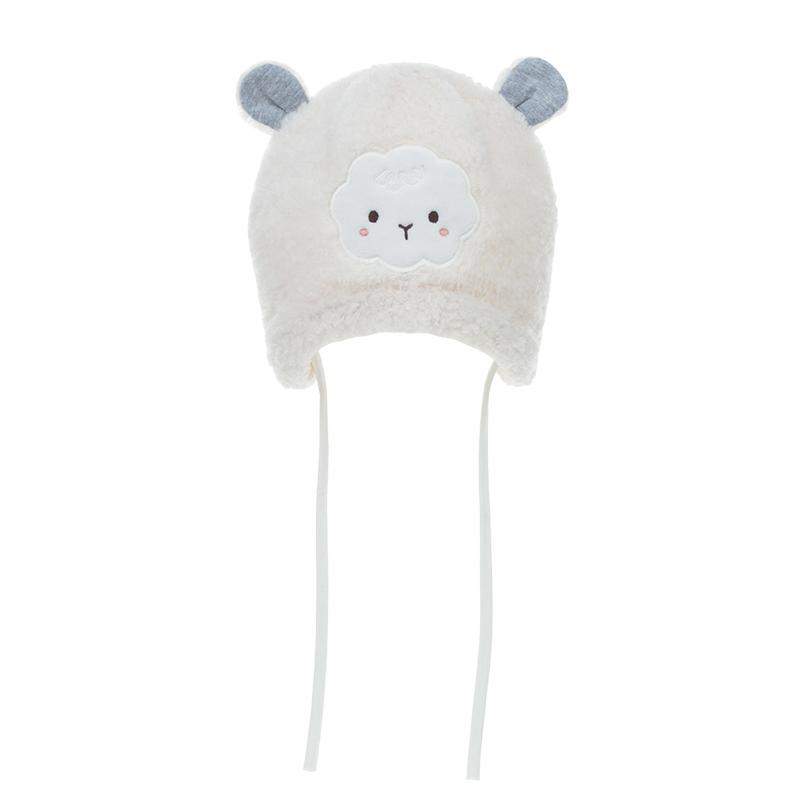 歌瑞家A类女童白色针织帽
