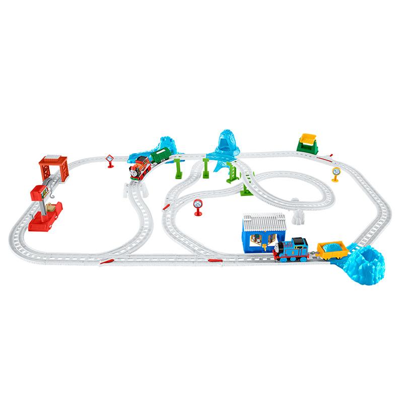 托马斯电动系列之雪地大冒险轨道套装