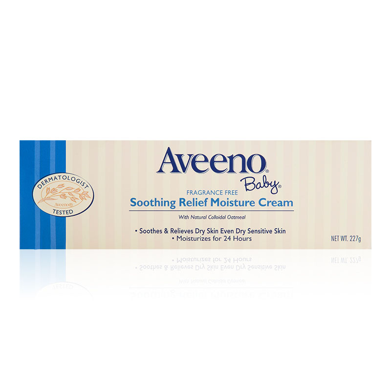 艾惟诺-Aveeno婴儿舒缓柔嫩润肤霜227g/瓶