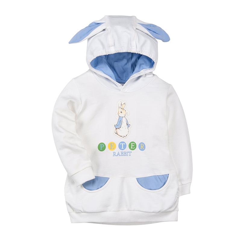 歌瑞家(比得兔)A类女宝宝连帽套头卫衣2色可选