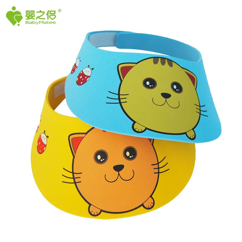 婴之侣洗头帽幼儿洗发帽儿童浴帽婴儿洗澡帽 颜色随机