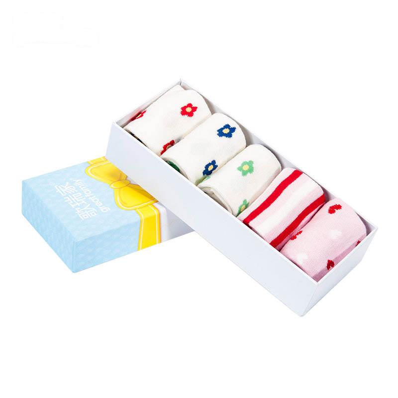 歌瑞贝儿女童四季袜(5双盒装)