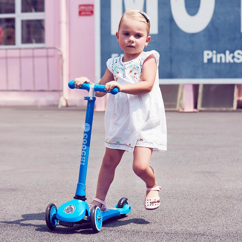 COOGHI酷骑Veli Kids1维乐宝贝滑板车 蓝色