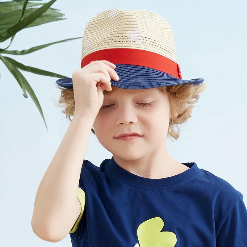 歌瑞家A类男童混色草帽