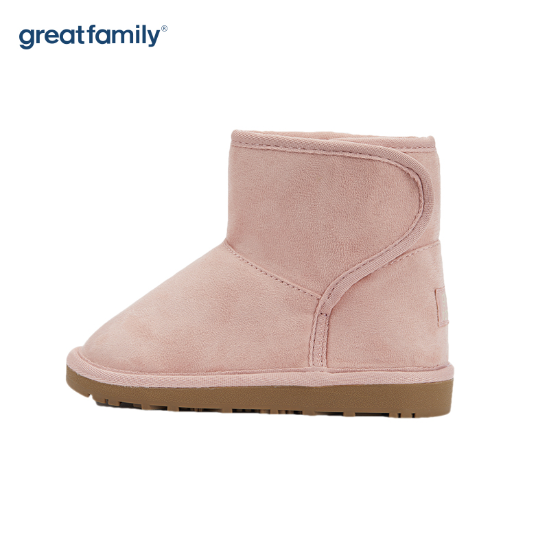 歌瑞家(greatfamily)女童雪地靴GKS-008SH粉