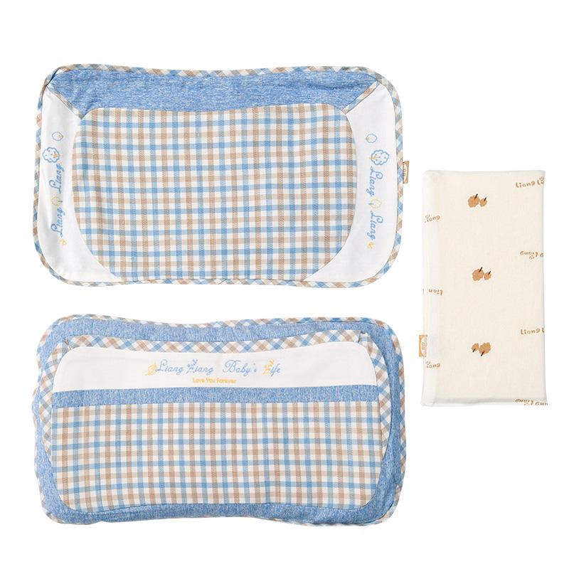 良良格彩童语婴幼儿护型保健枕(2-6岁标准)47.5*25.5(cm)蓝LL17A01-3B