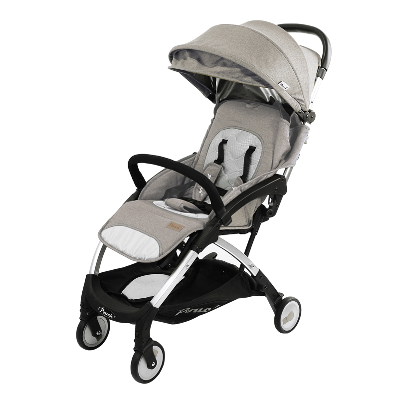 Pouch婴儿推车可坐可躺轻便折叠儿童手推车上飞机宝宝伞车夏A18 拉脱维亚米