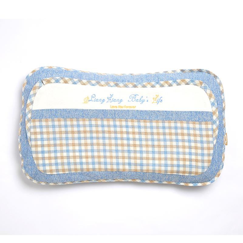 格彩婴幼儿专用枕3号蓝色M码
