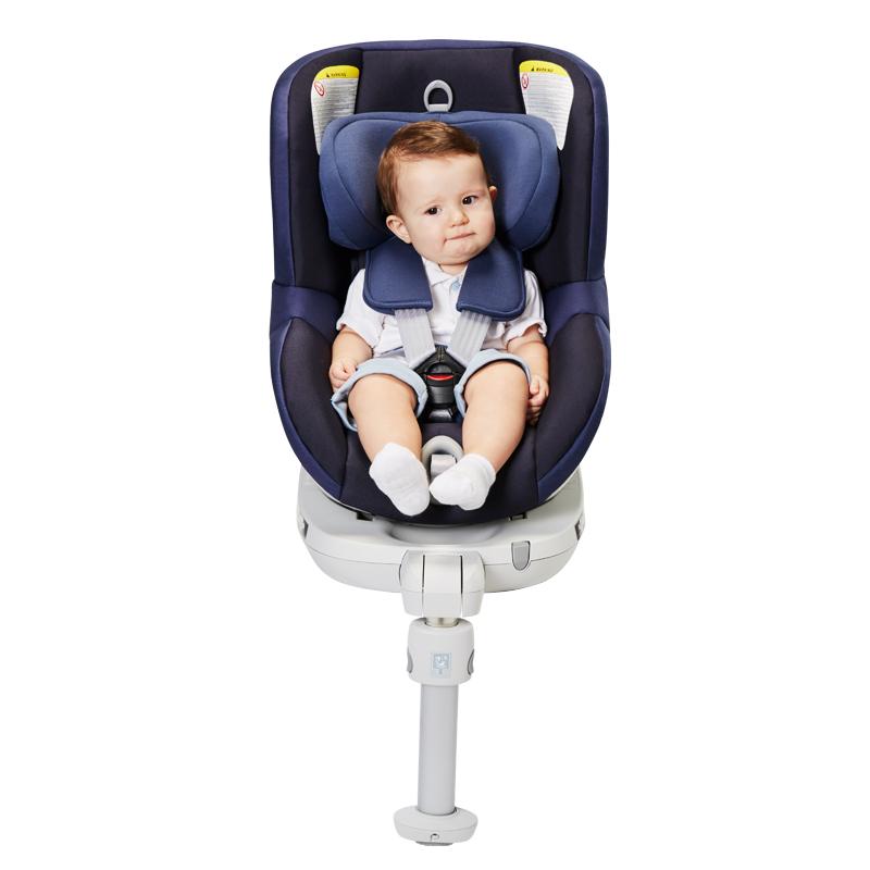 宝得适(Britax)儿童安全座椅宝宝座椅双面骑士皇室蓝