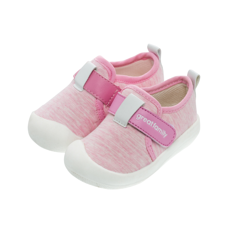歌瑞家(greatfamily)女婴素色宝宝鞋GBS1-011SH粉12CM双