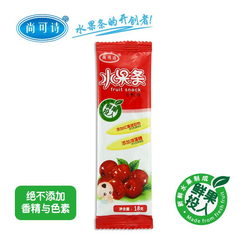 尚可诗红枣水果条18g