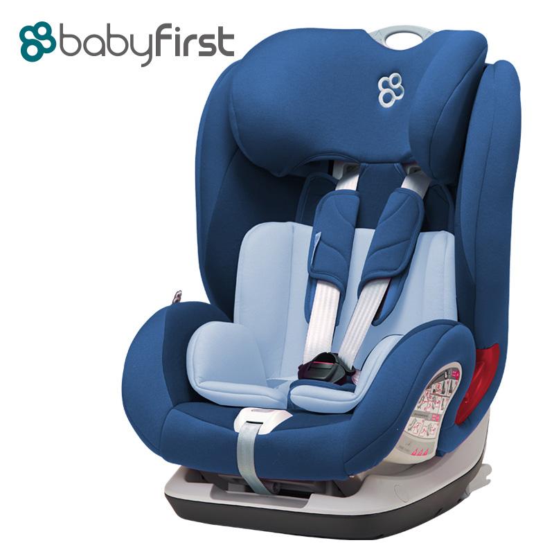 宝贝第一(Babyfirst)儿童汽车安全座椅宝宝座椅V505A铠甲舰队尊享版深海蓝